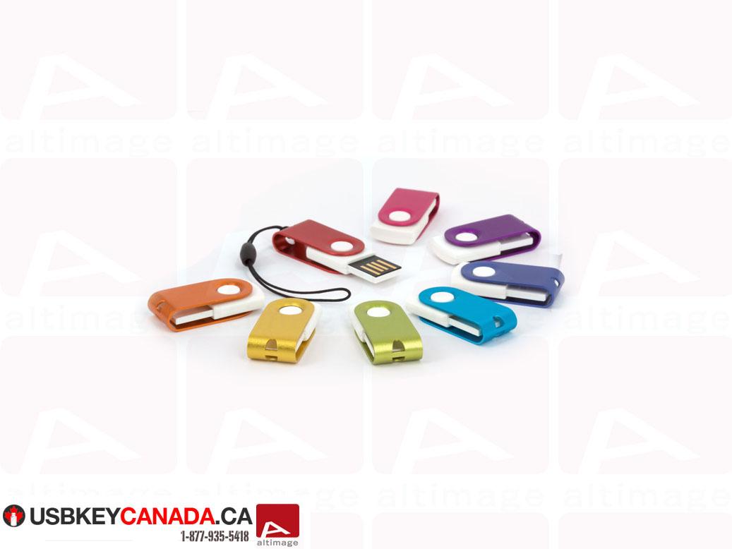 Small colored usb key