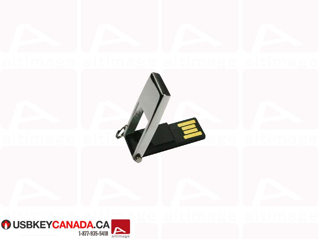 Custom small metallic usb key