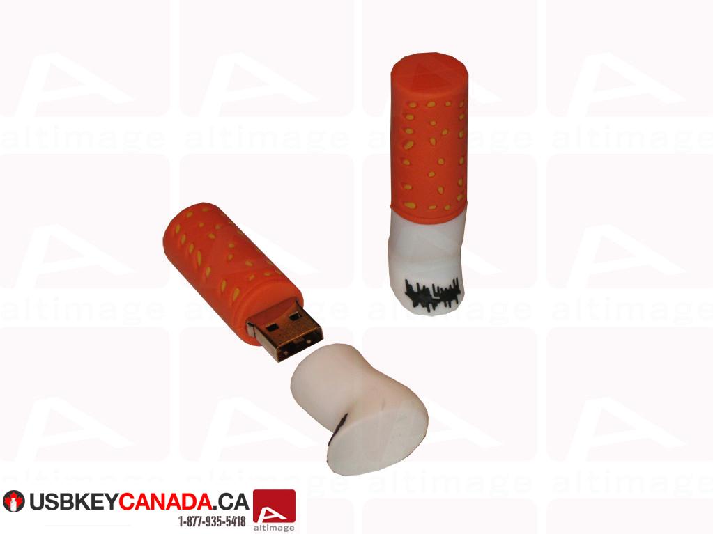 Custom cigarette usb key