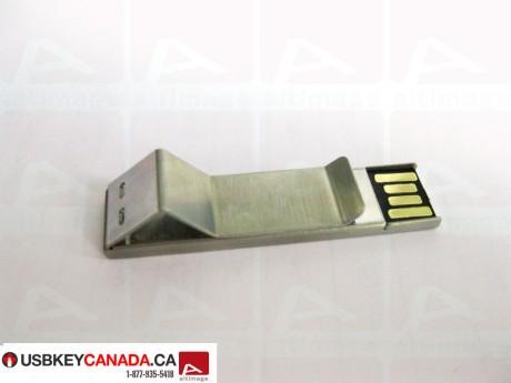 Custom clip usb key