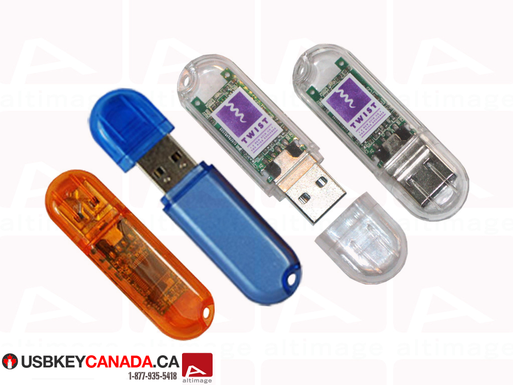 Custom transparent usb key