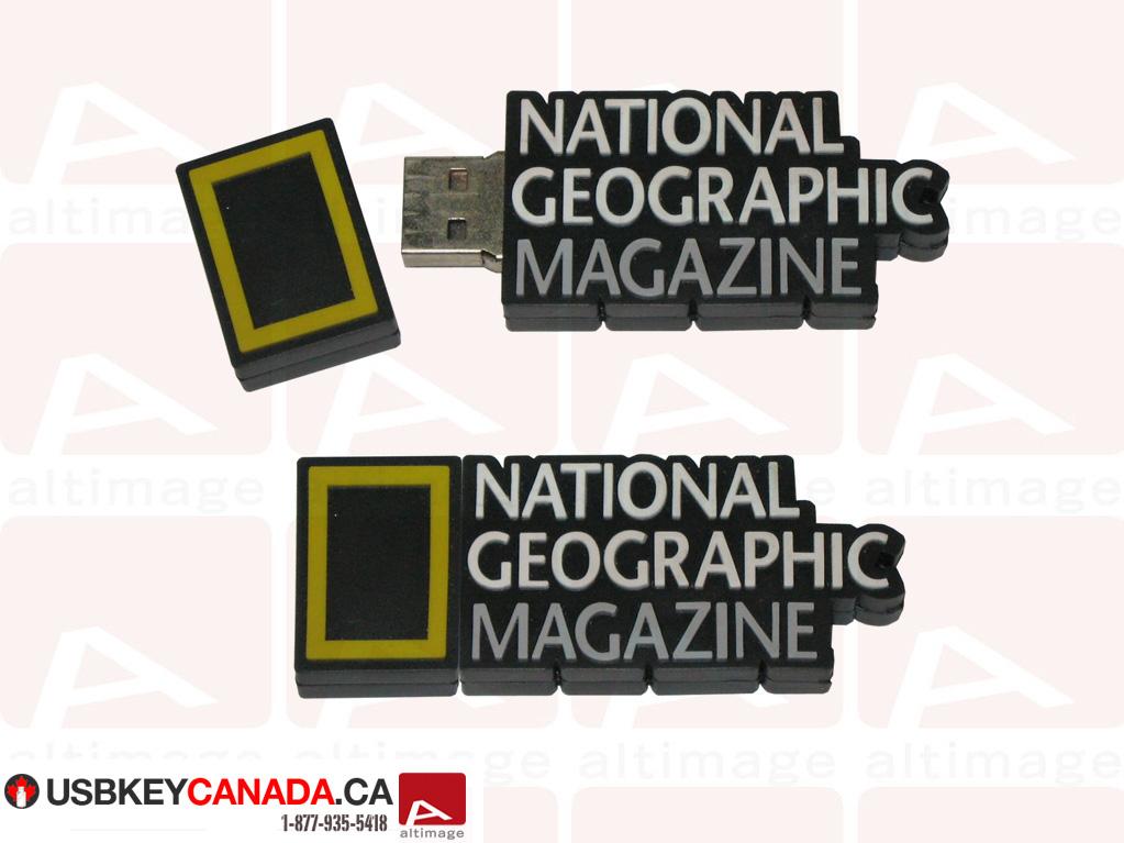 National Geographic Magazine usb key
