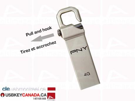 Custom locker usb key