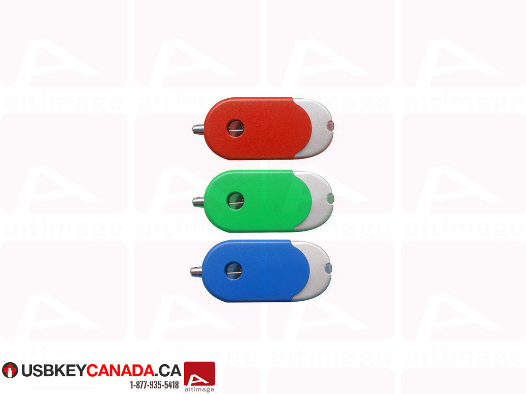 Custom colored usb key small