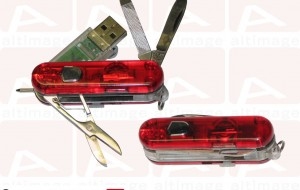Custom Swiss knife usb key