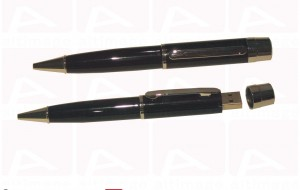Custom black pen usb key