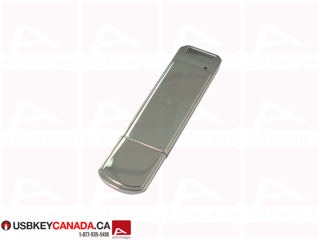 Custom metal curved usb key