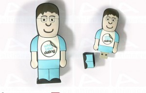 Cartoon character usb key