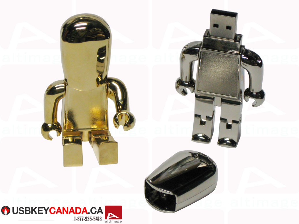 Custom usb key robot