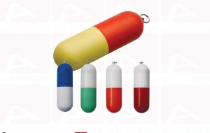 Custom pills usb key