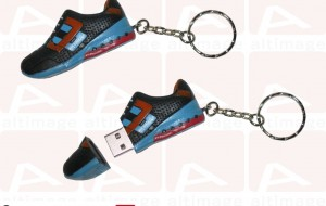 Custom usb key shoe