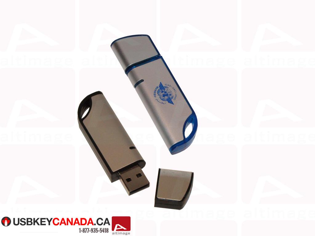 Custom curved usb key