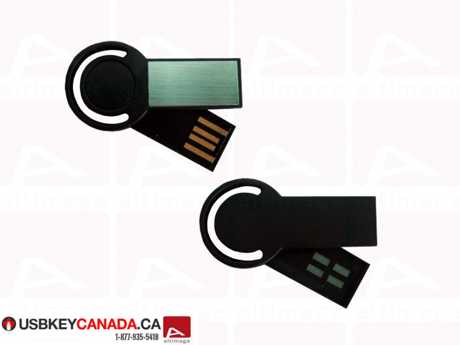 Custom slide usb key