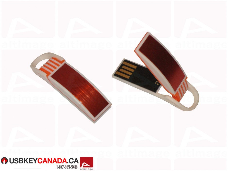Custom small red usb key