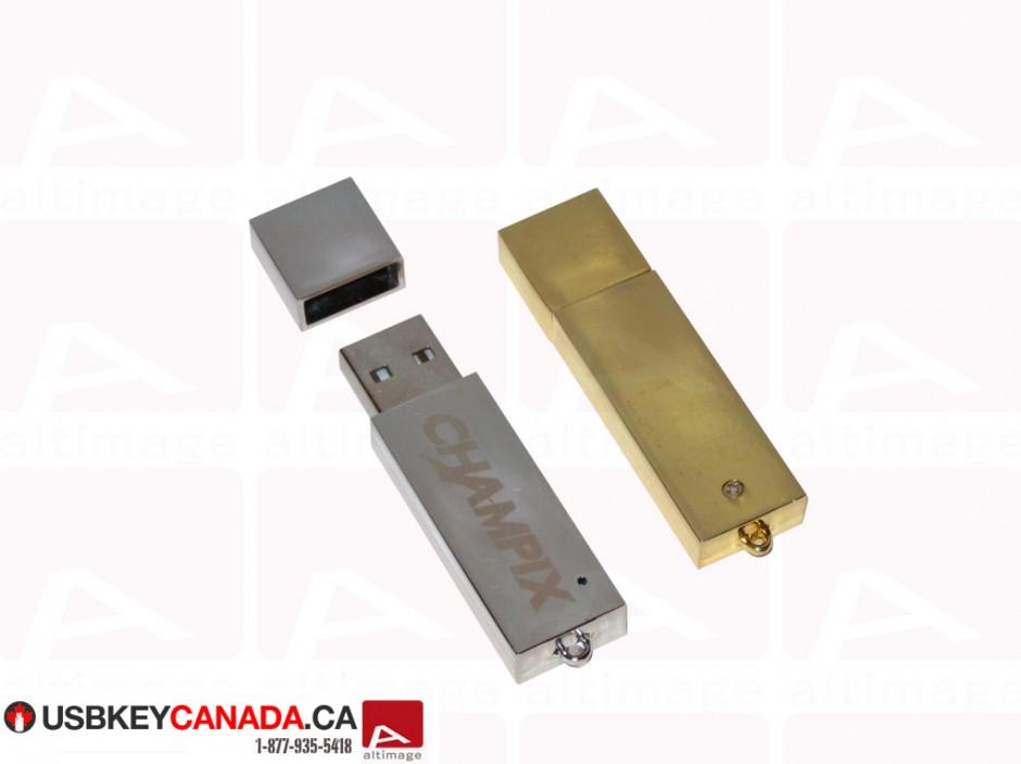 Custom metal bar usb key