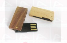 Custom usb key wood slide
