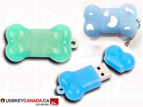 Bone custom usb key