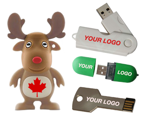 Custom USB Canada Selection