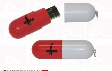 The Skinney USB key Pill project
