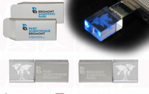 Bromont Scientific Park Custom Cristal usb flash drive