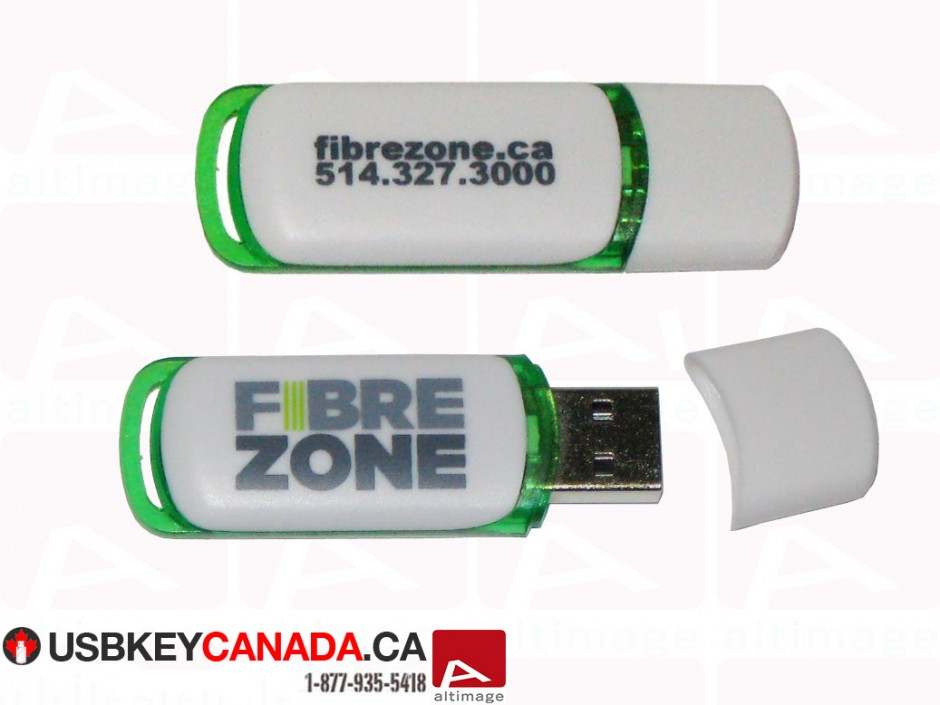 Custom usb key FibreZone