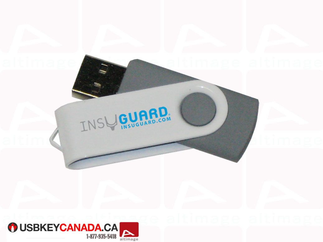 InsuGuard custom usb key