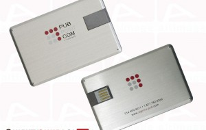 Custom usb card metal