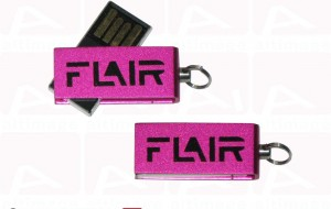 Custom pink metal usb key