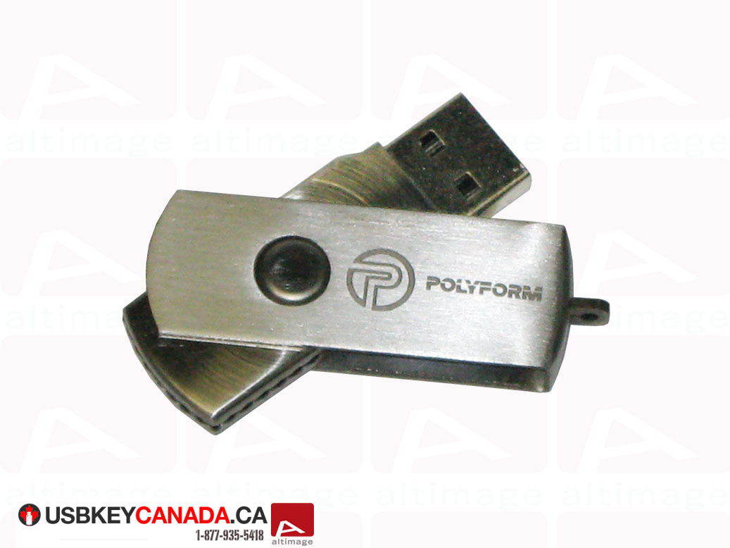 Metal usb key Polyform