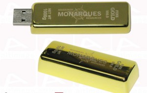 Monarques Usb Key Gold Bar