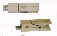 Custom clothespin usb key