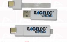 Sagelec usb paper clip