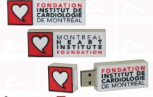 Montreal heart institute custom usb key