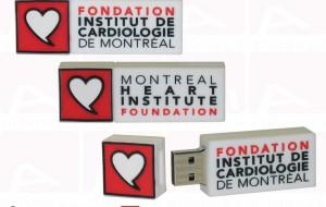 Montreal heart institute custom usb key