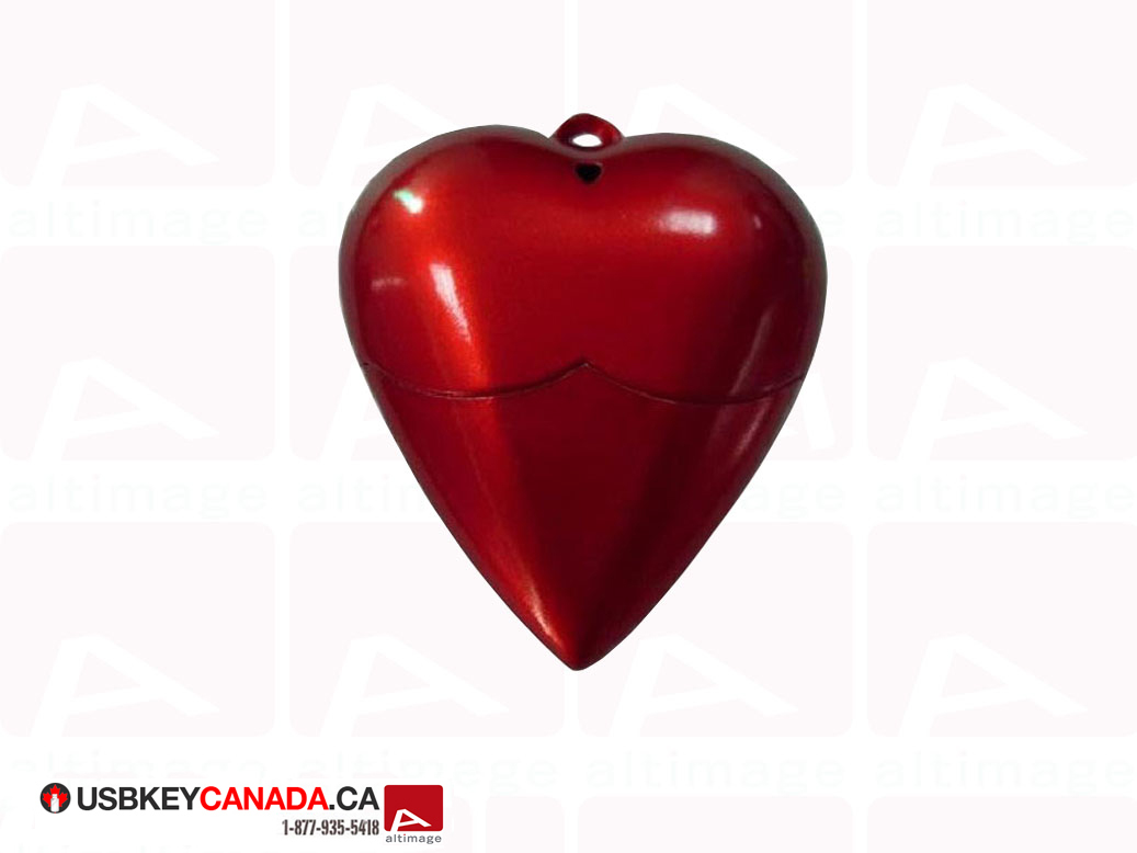 Custom Heart Usb Key Usb Key Canada