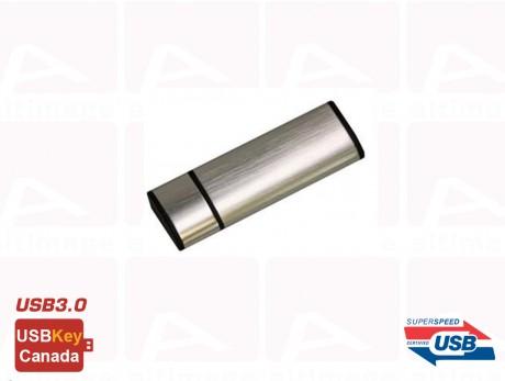 Custom silver USB Key 3.0