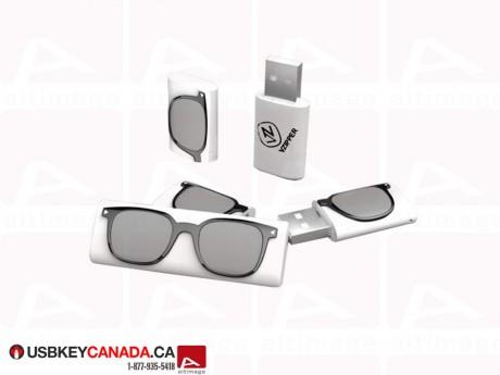 Custom USB Key glasses