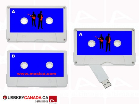 Custom tape USB Key