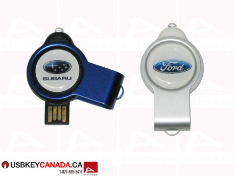 Custom colored metallic Flash Drive