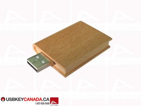 Custom Flash Drive wood book