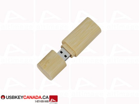 Custom light wood USB Key