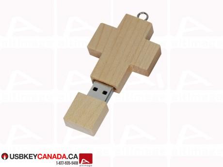Custom cross Flash Drive