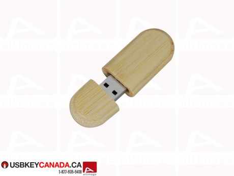 Custom Flash Drive wood curved