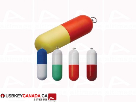 Custom pill Flash Drive