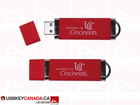 Custom red Flash Drive