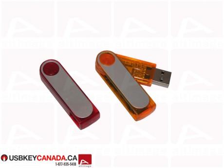 Custom slider plastic and metal USB Key