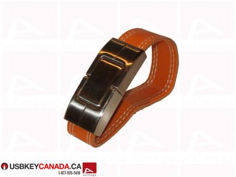 Custom leather bracelet USB Key