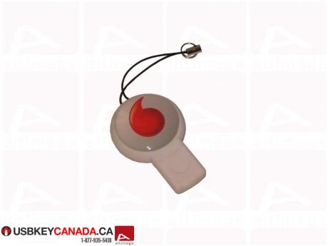 Custom whistle white Flash Drive