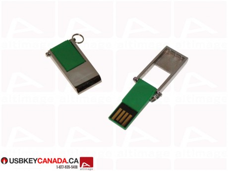 Custom mini USB Key metal cap