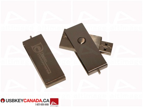 Custom USB Key metal bronze